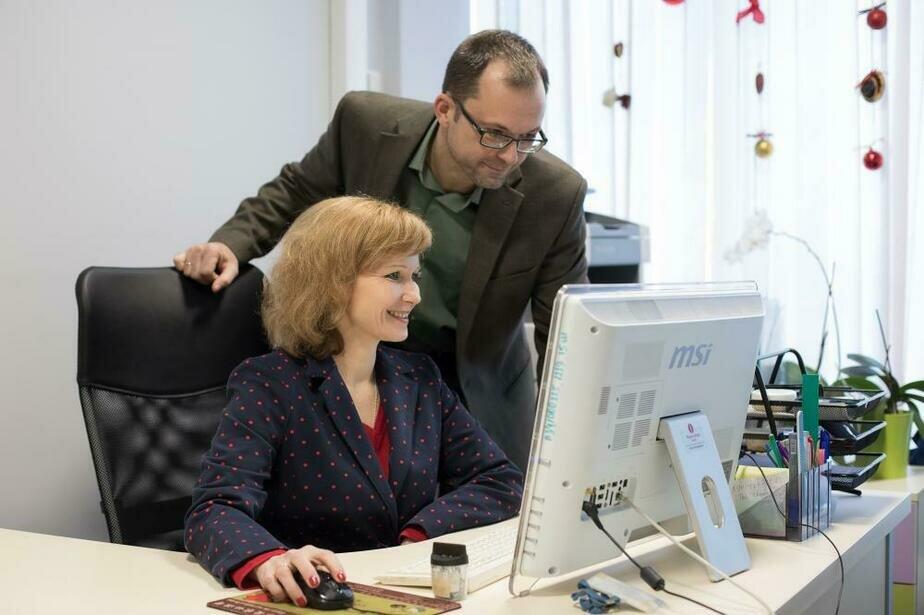На фото: учёные-онкологи Сергей и Татьяна Новицкие | Фото: пресс-служба БФУ им. И. Канта