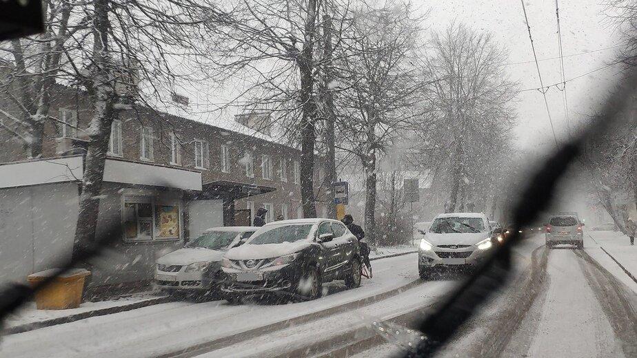 В Калининградской области гололёд стал причиной нескольких ДТП (фото) - Новости Калининграда | Фото очевидца