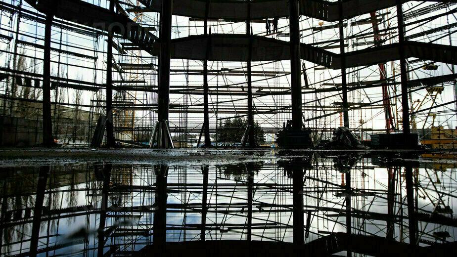 Как в Калининграде идёт строительство нового корпуса-шара Музея Мирового океана (фоторепортаж) - Новости Калининграда