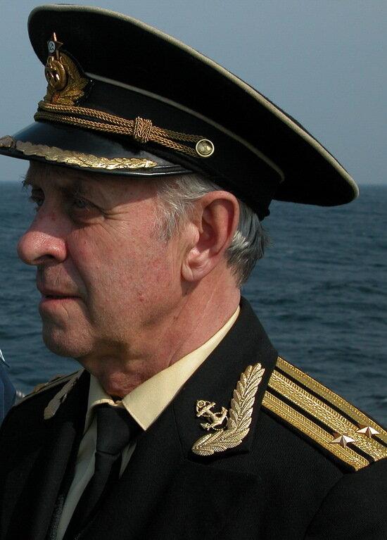 Капитан второго ранга Альберт Владимирович Тереховкин