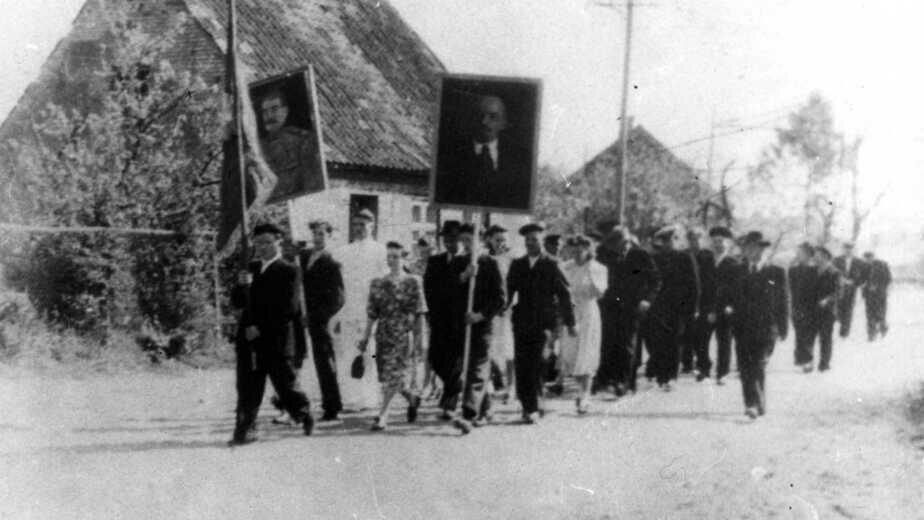Первые переселенцы    Фото: Государственный архив Калининградской области