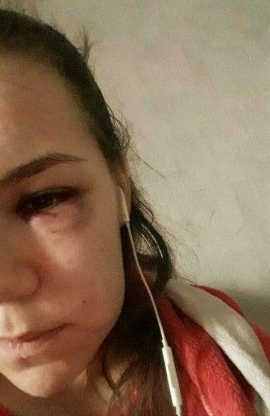 В Калининграде 20-летний парень избил в магазине бывшую жену, которую преследовал после развода (видео) - Новости Калининграда | Фото предоставлено Юлией