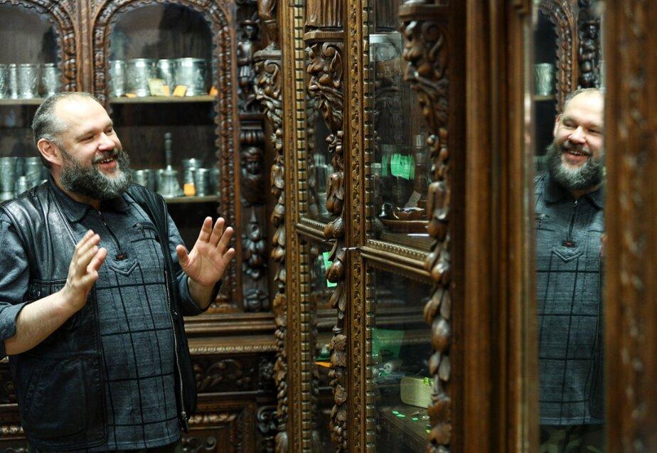 Максим Пестриков, антиквар и собиратель | Фото: Александр Подгорчук / Клопс