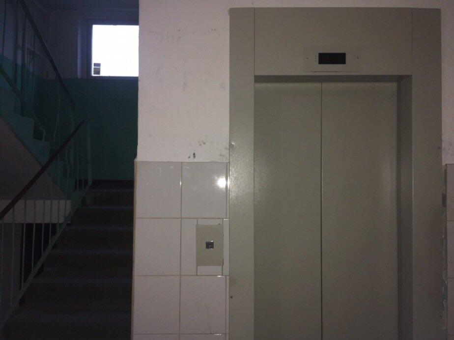В Калининграде жители девятиэтажки съехали из своих квартир из-за неработающих лифтов - Новости Калининграда | Фото: местные жители