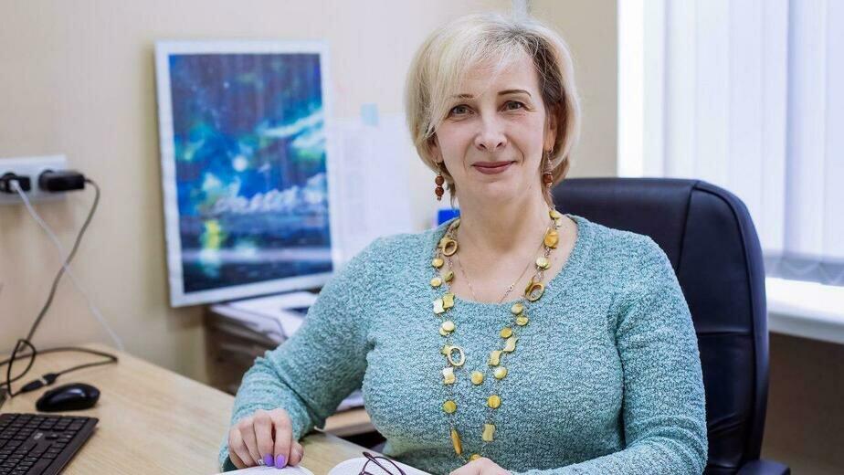 На фото: Ирина Ваколюк | Фото: пресс-служба БФУ им. И. Канта