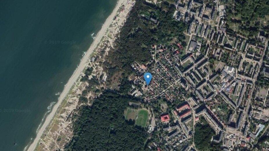 Место, где будет построен отель | Скриншот сервиса Google. Maps