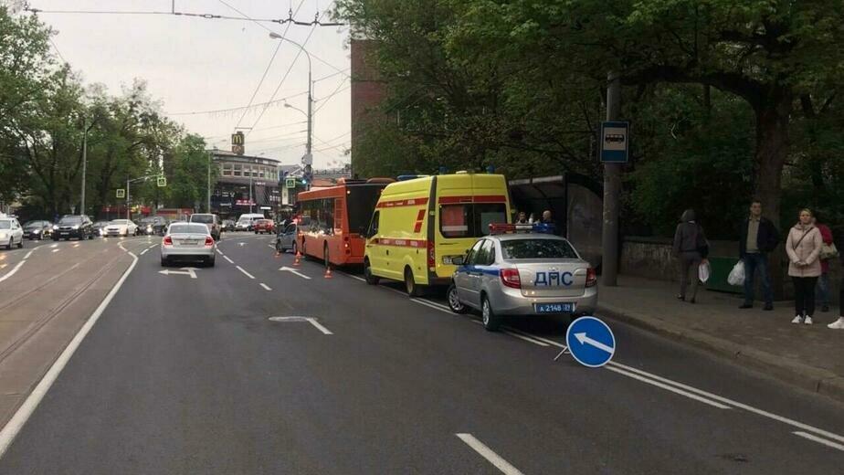 В Калининграде пострадала ещё одна пассажирка автобуса, в котором ушиблась годовалая девочка - Новости Калининграда | Фото: пресс-служба регионального УМВД