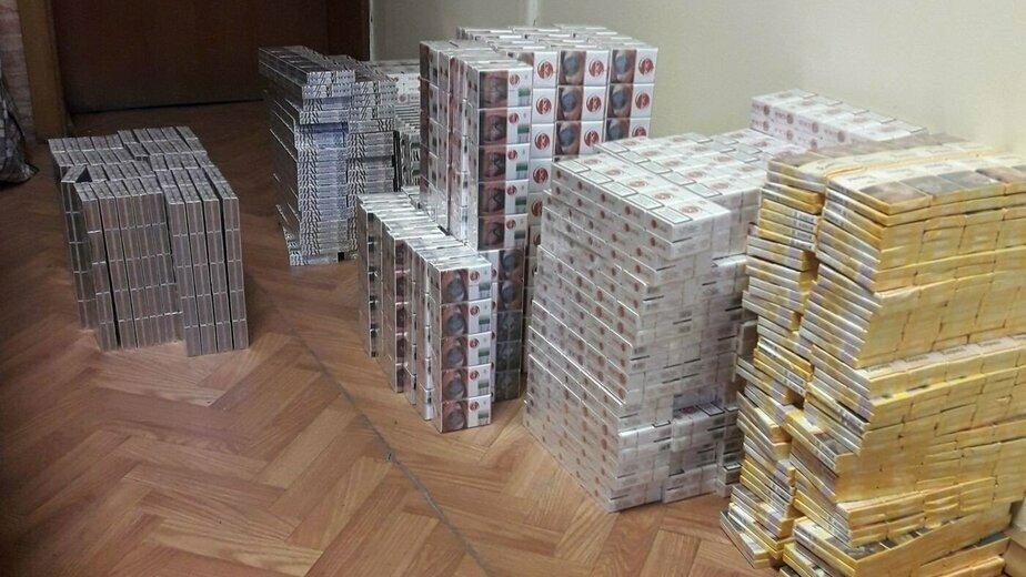 Контрабанда сигарет в Литве выросла в три раза за год - Новости Калининграда | Фото: главный комиссариат полиции Каунасского уезда