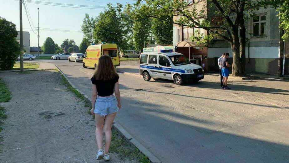 Фото с места происшествия | Фото: очевидец