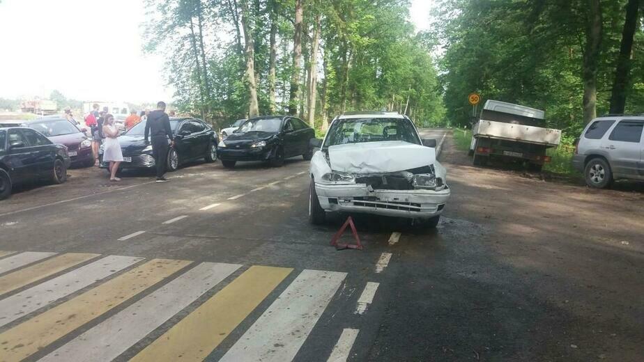В Зеленоградском районе в ДТП пострадал не уступивший дорогу водитель Opel - Новости Калининграда | Фото: пресс-служба УМВД России по Калининградской области