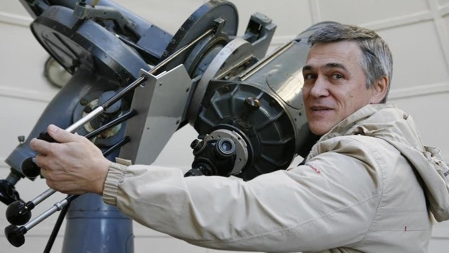 Астроном и популяризатор науки Владимир Сурдин | Фотография предоставлена организатором фестиваля