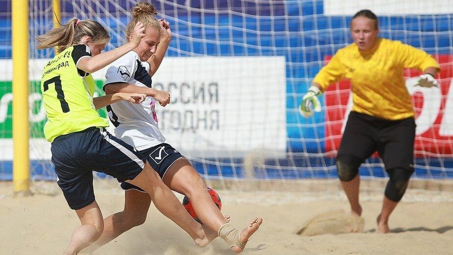 Женские команды сразятся на чемпионате области по пляжному футболу - Новости Калининграда | Фото: организаторы