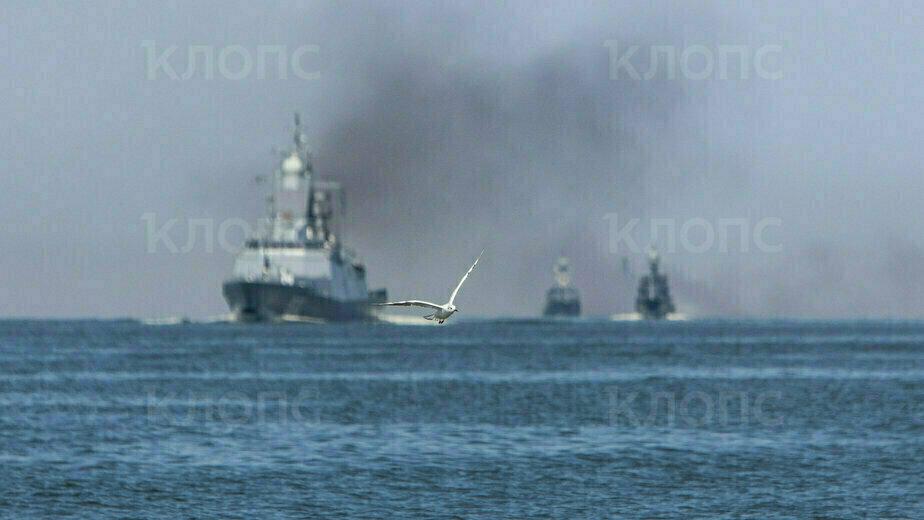 В Балтийске прошла репетиция военно-морского парада в честь Дня ВМФ (фоторепортаж) - Новости Калининграда