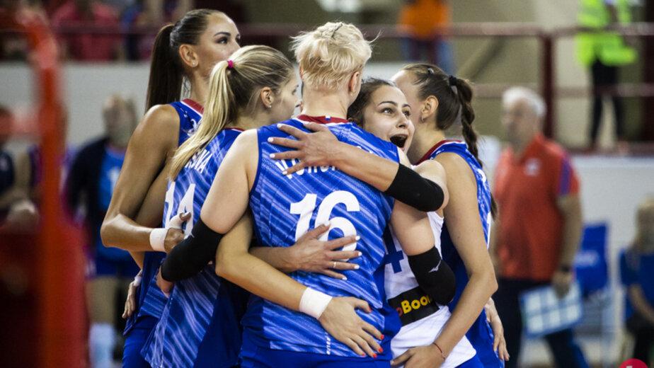 Женская сборная России по волейболу обыграла Германию в Калининграде - Новости Калининграда | Фото: Александр Подгорчук / Клопс