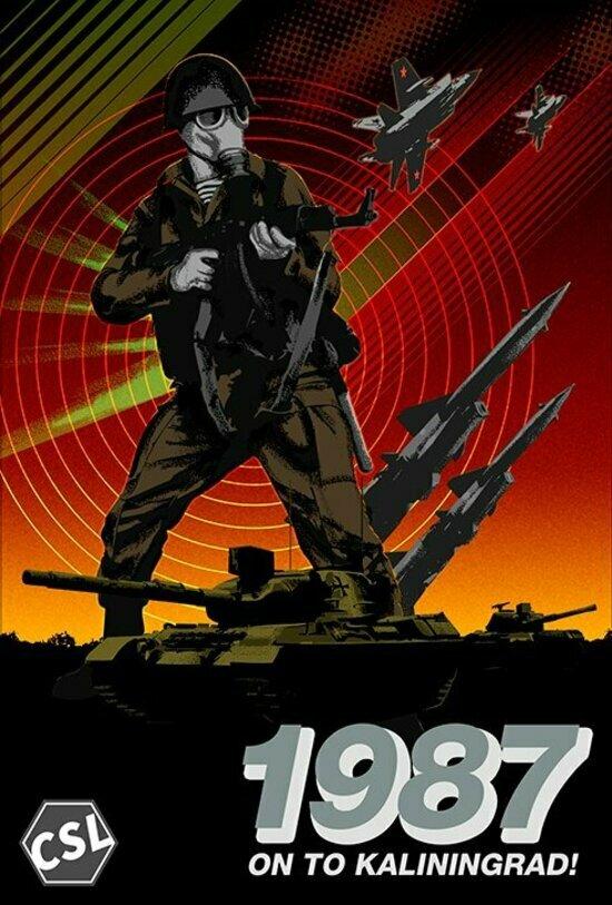 В Сети появилась игра о гипотетической третьей мировой войне в Калининградской области - Новости Калининграда | Изображение: обложка игры