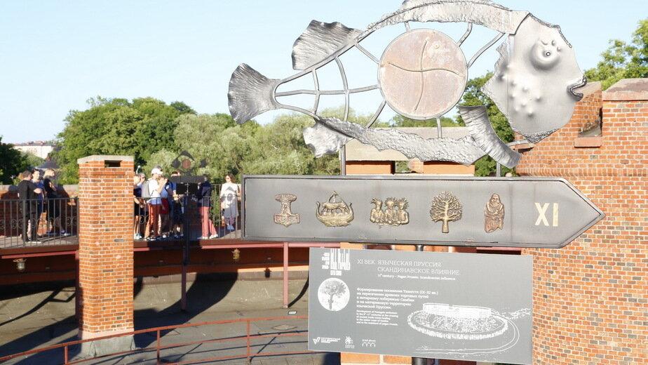 Музей янтаря познакомит посетителей с историей города на крыше башни Дона - Новости Калининграда | Фото предоставлено пресс-службой музея