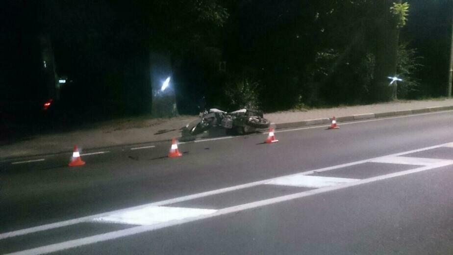 В Ладушкине насмерть разбился 30-летний мотоциклист - Новости Калининграда | Фото: пресс-служба регионального УМВД