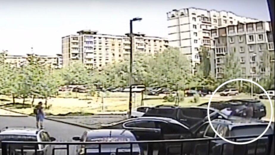 Появилось видео смертельной драки на парковке по ул. Маточкина - Новости Калининграда | Изображение: кадр из видео