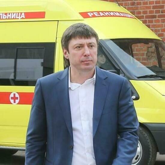 На фото: Александр Маляров   Фото: официальный сайт Детской областной больницы