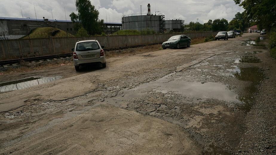 Дорогу к судоремонтному заводу в Балтийске отремонтируют в 2020 году - Новости Калининграда | Фото: пресс-служба правительства Калининградской области