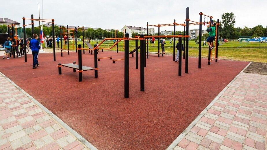До конца года площадки для уличной гимнастики откроют в 21 муниципалитете региона - Новости Калининграда | Фото: пресс-служба правительства Калининградской области