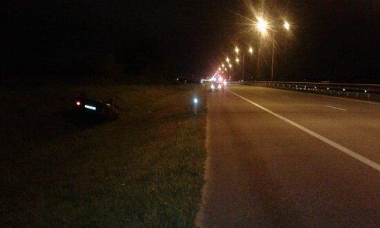 В Гурьевском районе перевернулись два автомобиля, пострадали три человека - Новости Калининграда | Фото: пресс-служба регионального УМВД