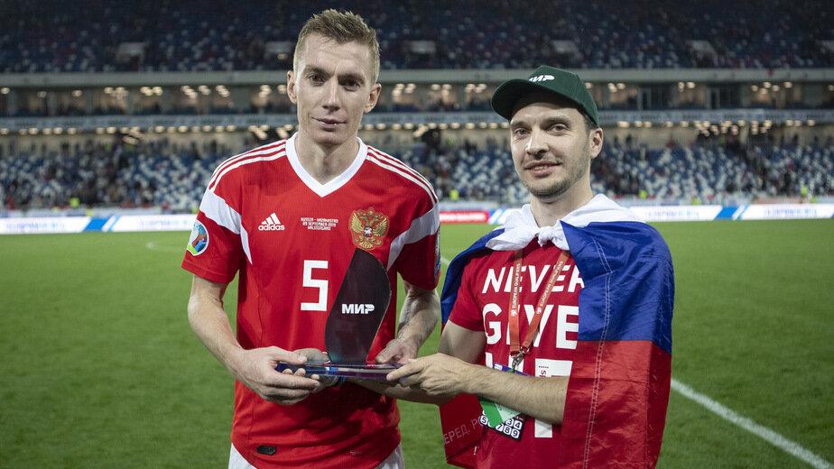 На фото: Андрей Семёнов | Фото: пресс-служба Российского футбольного союза