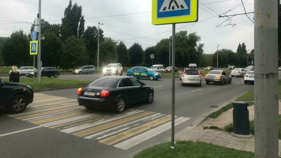 ДТП на Московском проспекте   Фото: пресс-служба регионального УМВД