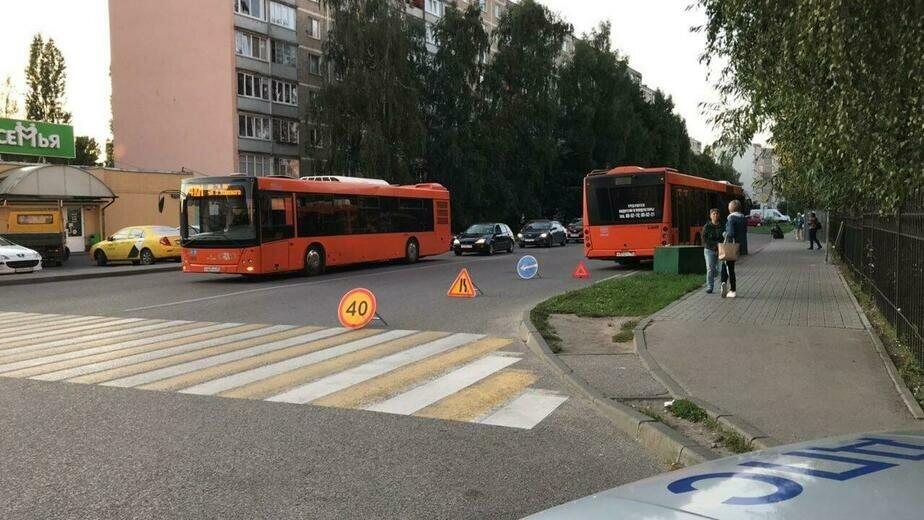В Калининграде при резком торможении автобуса пострадала 64-летняя женщина - Новости Калининграда   Фото: пресс-служба регионального УМВД