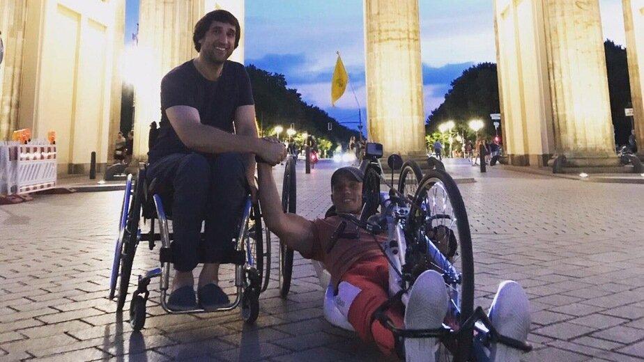 Инвалид из Калининграда доехал до Берлина на хендбайке (фото, видео) - Новости Калининграда | Фото: из личного архива путешественника