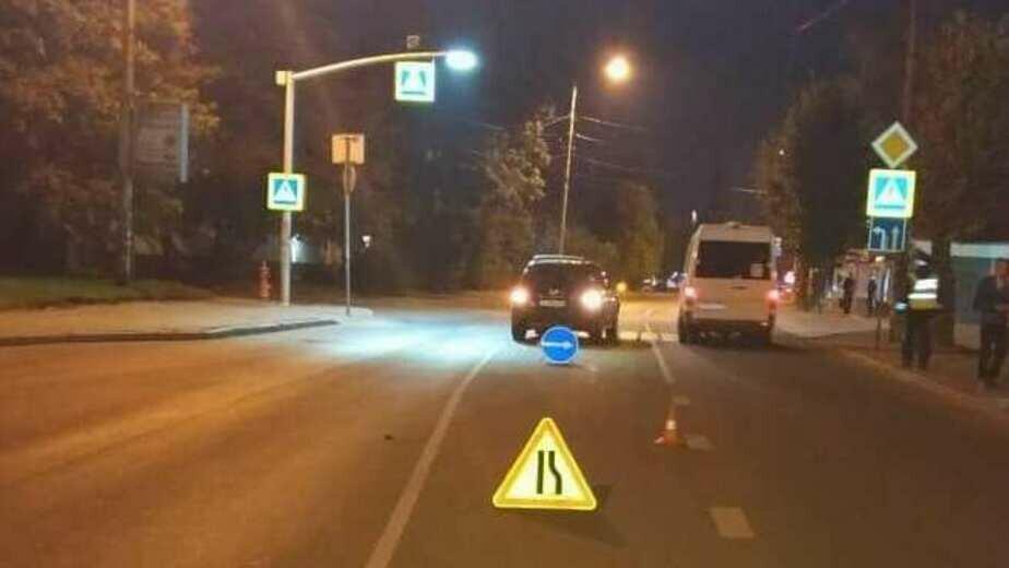 В Калининграде Volkswagen сбил 17-летнего подростка на электросамокате - Новости Калининграда | Фото: УГИБДД Калининградской области