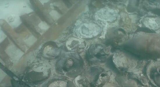 У берегов Майорки нашли судно, затонувшее около 1700 лет назад (видео) - Новости Калининграда | Кадр видеозаписи