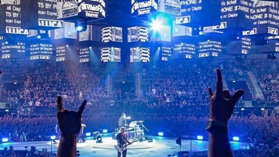 В Калининграде покажут легендарное шоу Metallica, снятое 20 лет назад   - Новости Калининграда | Кадр видеозаписи концерта