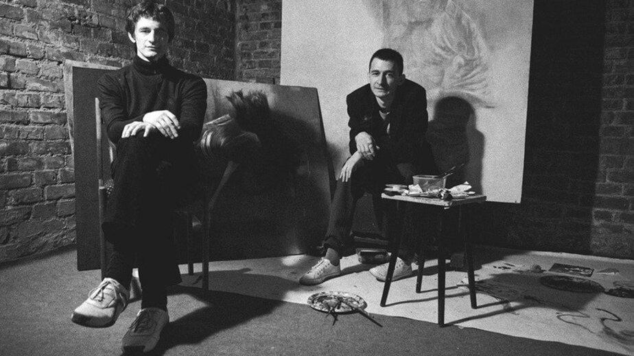 На фото: художники Олег и Алексей Медведевы    Фото из группы мероприятия