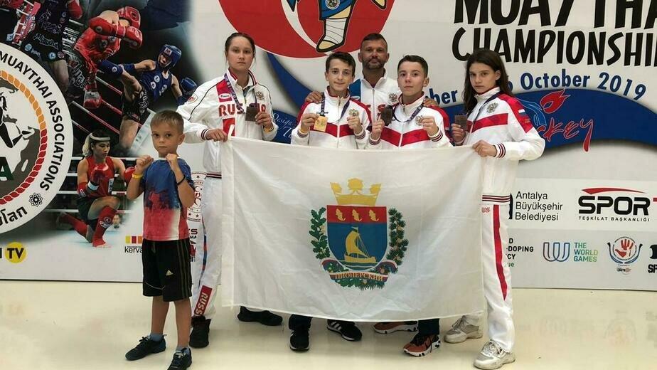 Спортсмены из Пионерского завоевали четыре медали первенства мира по тайскому боксу - Новости Калининграда | Фото: пресс-служба регионального правительства