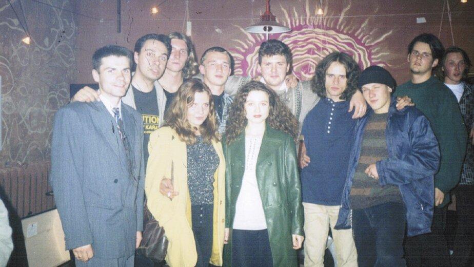 """Персонал и посетители легендарного """"Икстлана """"   Фото: Константин Ярков"""