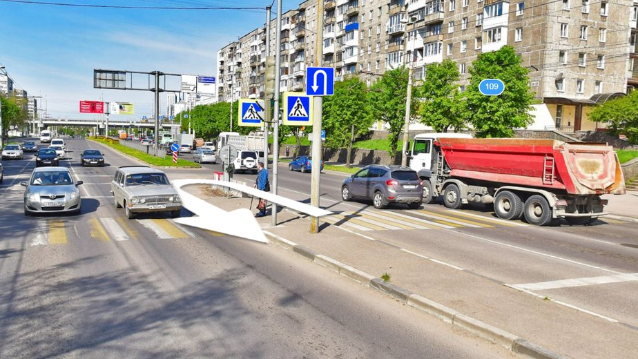 Сам себе гаишник: калининградцы нашли способы избавить город от пробок - Новости Калининграда | Скриншот Google.Maps