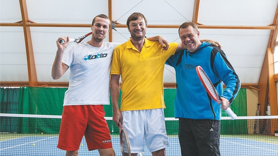 Александр Волков (в центре) | Фото: Егор Сачко