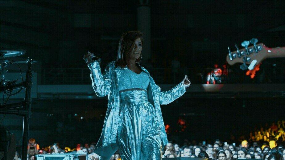 "На фото: Рината Тей | Фото: официальная страница певицы / ""ВКонтакте"""