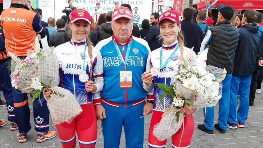Велосипедистки из Калининграда завоевали пять медалей чемпионата мира - Новости Калининграда | Фото: пресс-служба регионального правительства