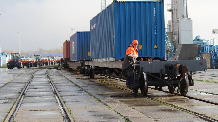 В Балтийск прибыл первый контейнерный поезд по маршруту Китай — Европа - Новости Калининграда | Фото: пресс-служба регионального правительства