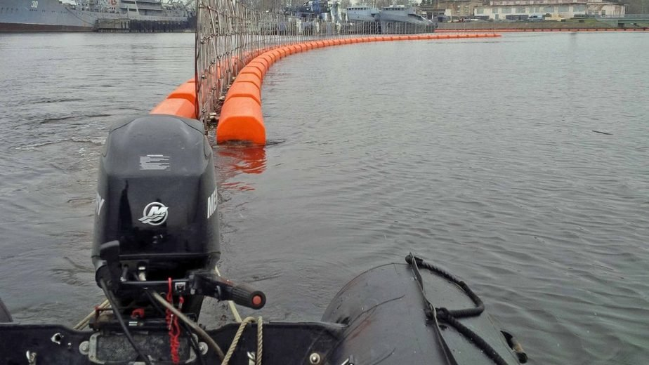 В Балтийске построят плавучие заграждения для защиты базы флота от террористов - Новости Калининграда | Фото: пресс-служба ЗВО по Балтийскому флоту