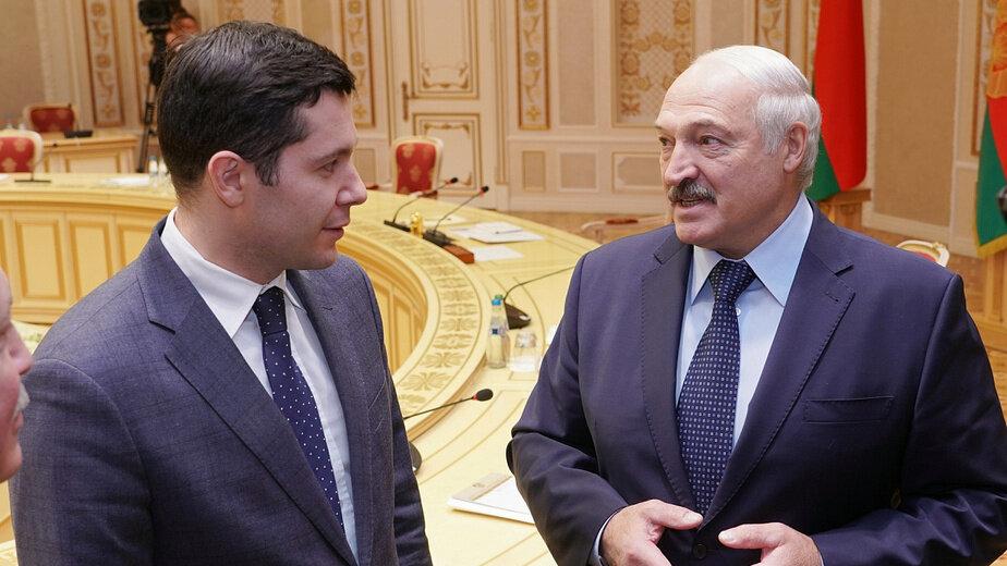 Алиханов предложил Лукашенко использовать калининградские порты для перевозки грузов   - Новости Калининграда | Фото: пресс-служба правительства Калининградской области