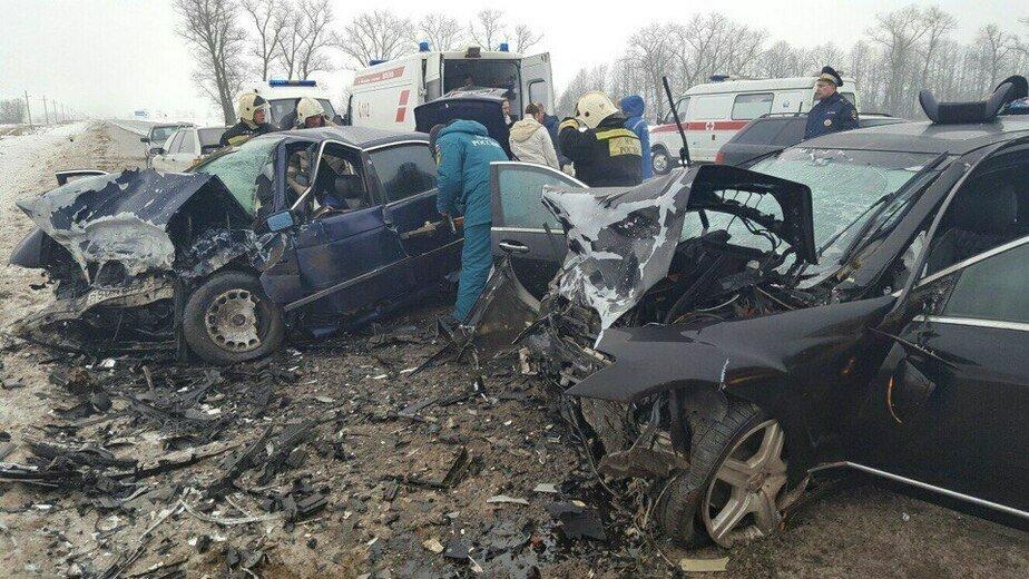 Вынесли приговор виновнику аварии под Нестеровом, где погибли 21-летние супруги - Новости Калининграда | Фото с места ДТП 2017 года