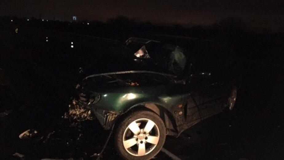 На Южном обходе лоб в лоб столкнулись Mercedes и Audi, есть пострадавший - Новости Калининграда | Фото: пресс-служба УМВД России по Калининградской области