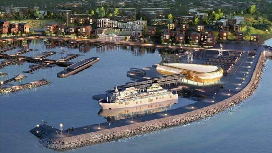 От торгов до уголовного дела: история строительства порта в Пионерском  - Новости Калининграда