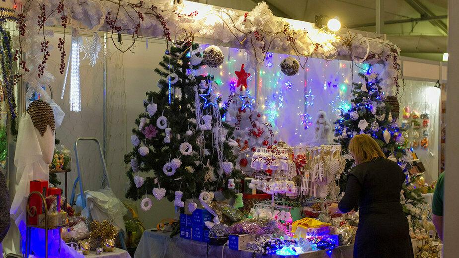 """Рождественская ярмарка в """"Балтик-экспо""""   Фото из архива """"Клопс"""""""