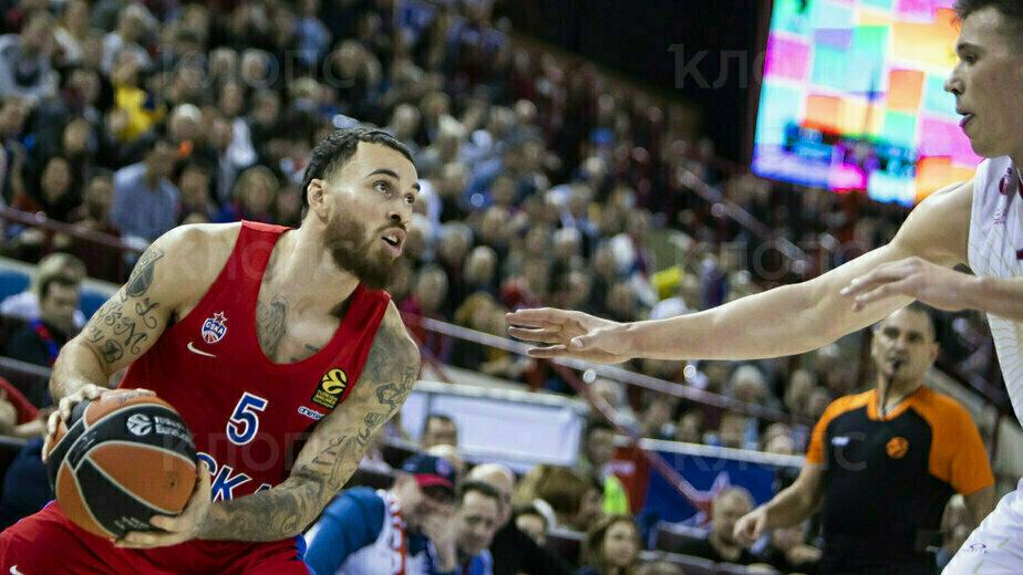 Как баскетболисты ЦСКА вырвали победу у итальянцев в матче Евролиги в Калининграде (фоторепортаж)   - Новости Калининграда