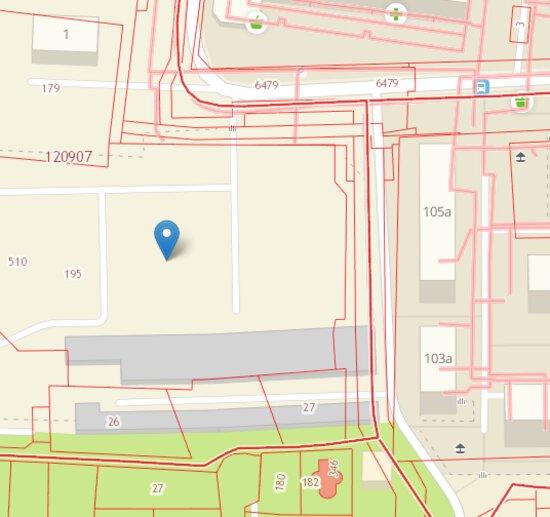 Место, где построят дом | Скриншот публичной кадастровой карты