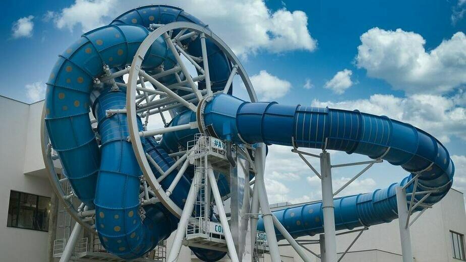 В польском аквапарке открыли первую в Европе вращающуюся горку - Новости Калининграда | Фото: официальный сайт аквапарка
